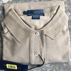 NWT Men's Ralph Lauren Classic Fit Polo Shirt - L